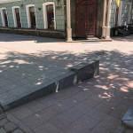 Світлина. Органи прокуратури Одеської області вживають заходи з метою забезпечення доступності приміщень для громадян з інвалідністю та інших мобільних груп населення. Безбар'ерність, інвалідність, доступність, аудит, прокуратура, Одеська область