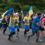 Українські воїни, поранені в АТО, пробігли Марафон Морської піхоти у США (ФОТО, ВІДЕО)