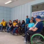 Світлина. Переселенець відкриває безкоштовну майстерню з ремонту інвалідних візків. Життя і особистості, переселенец, ремонт, Шостка, інвалідних візок, Олексій Тесля