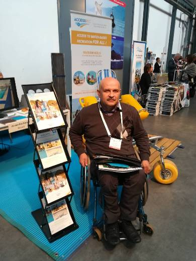 Одессит стал участником Всемирного саммита по доступному туризму в Брюсселе