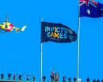 "Австралія готується зустріти команду ""нескорених"" з України. invictus games, ігри нескорених, австралія, ветеран, зустріч, sky, flag, outdoor. A person flying through the air"