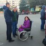 Світлина. Акцію «Безмежні» на підтримку людей з інвалідністю провели у Слов'янську. Новини, інвалідність, соціалізація, Слов'янськ, акция, Безмежні