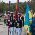Світлина. Українські воїни, поранені в АТО, пробігли Марафон Морської піхоти у США. Реабілітація, військовослужбовець, США, поранений, воїн АТО, Марафон морської піхоти
