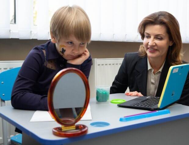 Марина Порошенко взяла участь у відкритті Васильківського інклюзивно-ресурсного центру. васильків, марина порошенко, відкриття, особливими освітніми потребами, інклюзивно-ресурсний центр