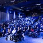 Світлина. Одессит стал участником Всемирного саммита по доступному туризму в Брюсселе. Безбар'ерність, инвалидность, доступность, туризм, Брюссель, саммит