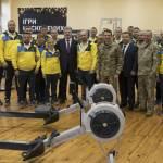 Президент побажав нашій команді ветеранів успіхів на «Іграх нескорених» в Сіднеї