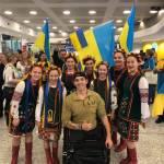 """Світлина. В Австралії зустріли українську команду """"Ігор нескорених"""". Спорт, змагання, Ігри Нескорених, зустріч, команда, Австралія"""
