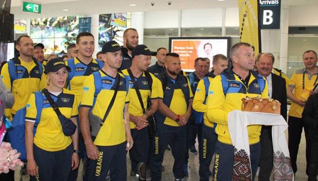 """В Австралії зустріли українську команду """"Ігор нескорених"""""""