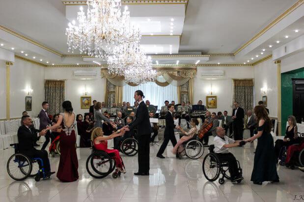 VI Мальтійський бал для людей з обмеженими фізичними можливостями. мальтійський бал, тисмениця, аудит, доступність, інвалідний візок