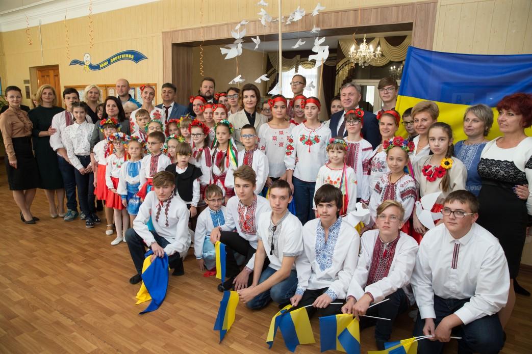 Луганська область долучилася до проекту Марини Порошенко по розвитку інклюзивної освіти