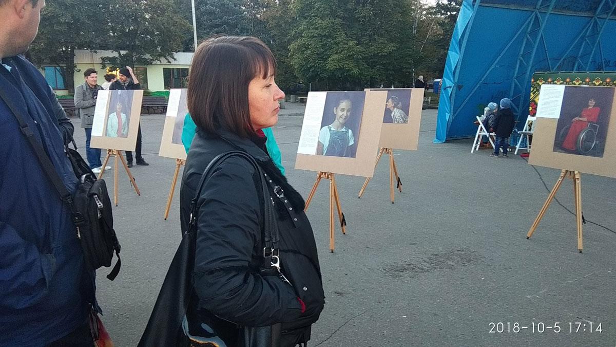 Акцію «Безмежні» на підтримку людей з інвалідністю провели у Слов'янську (ФОТО)
