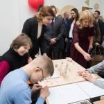 Світлина. У Чернігові Марина Порошенко презентувала проекти «Бути Батьками», «Арсенал Ідей» та «Дитяча Демократія». Навчання, інклюзивна освіта, проект, Марина Порошенко, презентація, Чернігів