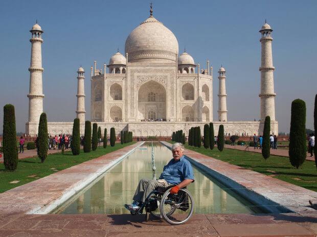 """Мандрівник Микола Подрезан: """"Якщо мені вдалося щось зробити, то що ж ви, з руками і ногами?"""". микола подрезан, мандрівник, оптимізм, інвалідний візок, інвалідність"""
