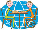 Festina lente. Поспішай повільно. незрячий, інвалідність, інклюзивна освіта, інклюзія, інтернат, cartoon, abstract, smile, drawing, child art, illustration, clipart, vector graphics. A drawing of a cartoon character
