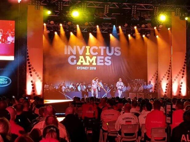 В Австралії стартували Ігри Нескорених. ігри нескорених, австралія, відкриття, змагання, спортсмен