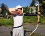 """""""Ігри нескорених"""": як українські військові готуються до змагань у Сіднеї (ВІДЕО). ігри нескорених, ветеран ато, військовий, змагання, травма, sky, outdoor, tree, grass, archery, sport, person, golf, weapon, bow and arrow"""
