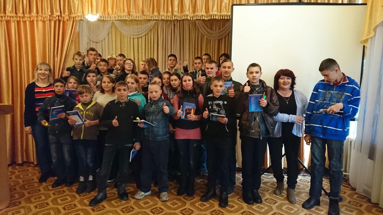 Олександрія: діти, які мають вади здоров'я, граючись обирали професію