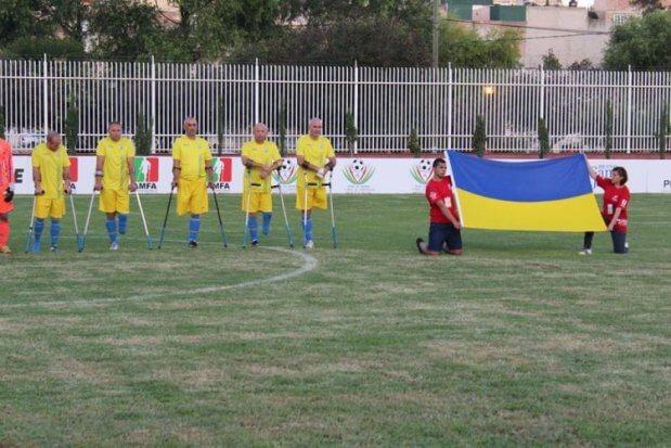 Збірна України серед футболістів з обмеженими можливостями виступила на чемпіонаті світу в Мексиці. мексика, команда, футбол, чемпіонат світу, інвалід-ампутант
