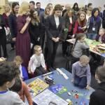 Перша леді Марина Порошенко в Чернігові: «Нині вже нікого не дивує, коли особлива дитина вчиться разом з усіма»