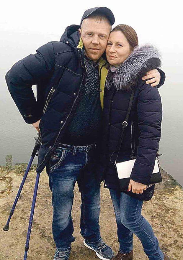 Поранений атовець з Вінниччини знайшов дружину в шпиталі. андрій сальник, атовець, поранений, розвідник, інвалідність