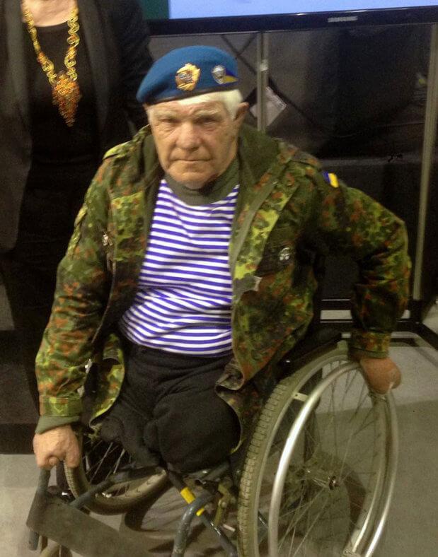 Волонтер с инвалидностью собрал для ВСУ больше миллиона гривен. всу, григорий янченко, дядя гриша, волонтер, инвалидность