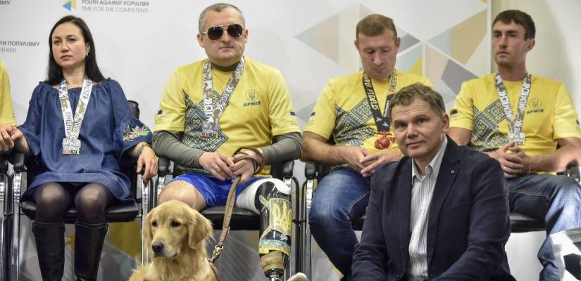 Анонсували змагання для поранених українських військових, у яких можна взяти участь у 2019 році (ВІДЕО)