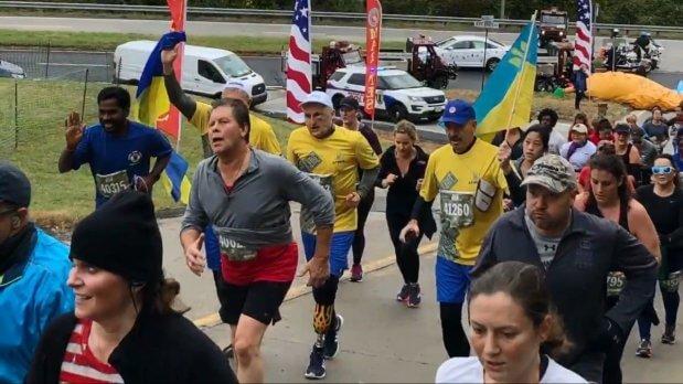 """""""Найкраща реабілітація"""": ветерани АТО повернулися з Марафону морської піхоти США. марафон морської піхоти, сша, ветеран ато, змагання, суспільство"""