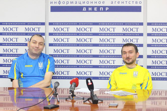 Днепровские футбольные парафанаты представят Украину на Международной конференции доступного футбола в Испании (ФОТО)
