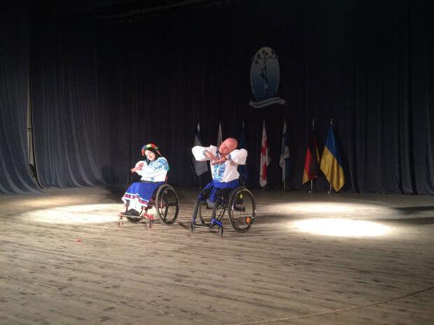 Вінничани на візках виграли Гран-прі на міжнародному інклюзивному фестивалі у Грузії. іверія – брілліант, гран-прі, грузія, танцювальна пара, фестиваль