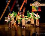 Як особливі актори Рівного готуються до вистав (ВІДЕО). рівне, театр особливих людей намисто, вистава, творчість, інвалідність, dance, person, dancing, clothing. A group of people on a stage