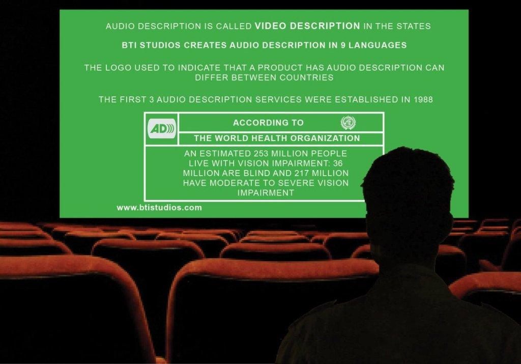 Кіно для всіх: як активісти адаптують фільми для незрячих та де можна подивитися ці стрічки? (ВІДЕО). аудіодискрипція, волонтер, незрячий, прес-конференція, фильм, sitting, indoor, person, screenshot, laptop, design. A person sitting in front of a computer screen