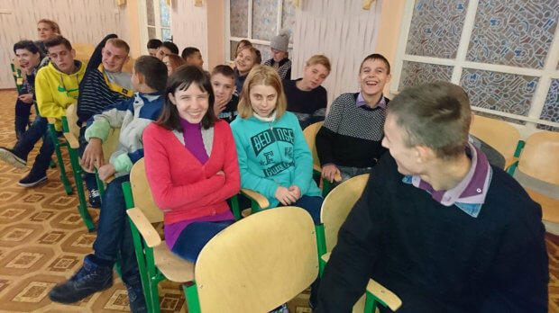 Олександрія: діти, які мають вади здоров'я, граючись обирали професію. олександрія, професія, центр зайнятості, інвалідність, інтерактивний захід