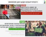 Мінрегіон пропонує робити супермаркети зручними для людей з інвалідністю. дбн, доступність, магазин, супермаркет, інвалідність, screenshot, abstract, person, clothing, poster. A screenshot of a social media post