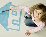 Для дітей з інвалідністю, які залишилися без батьків, збудують малий груповий будинок. львівщина, малий груповий будинок, суспільство, інвалідність, інтернат, person, drawing, child art, indoor, handwriting, clothing. A young girl jumping in the air
