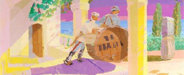Стиль невозможного. Как слепой художник из Харькова пишет картины. дмитрий дидоренко, картина, ранение, слепой, художник