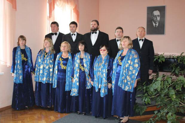 З піснею в душі. харків, ансамбль консонанс, незрячий, сліпий, творчість