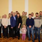 Світлина. В Одесі вшанували захисників країни з інвалідністю. Новини, інвалідність, поранення, ветеран, Одеса, почесна відзнака