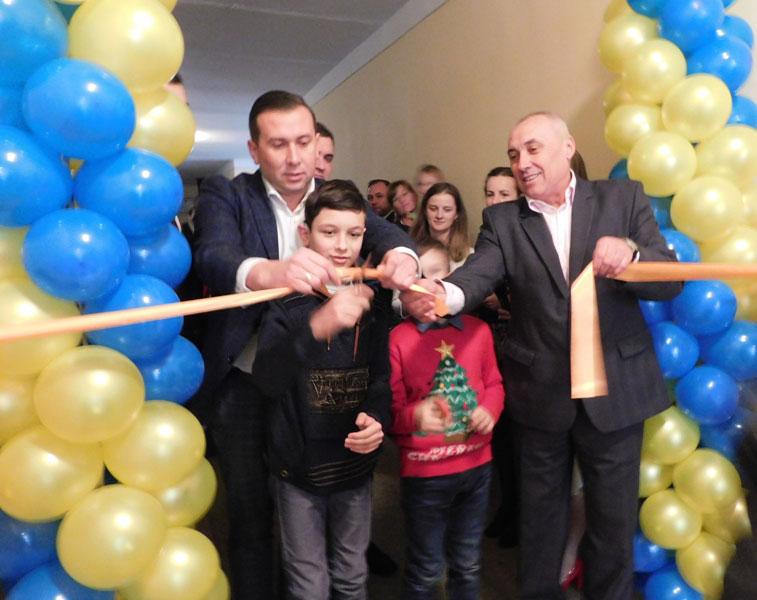 В Бережанах урочисто відкрили інклюзивно-ресурсний центр (ФОТО)