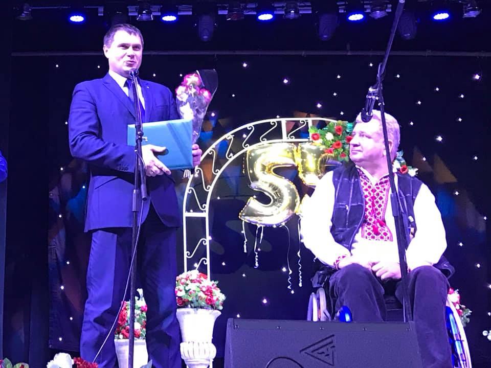 Ювілейний творчий вечір заслуженого художника України Юрія Пацана «Маю честь запросити»