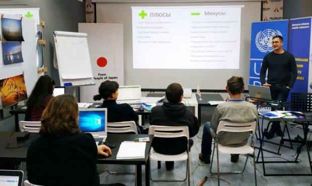 В Мариуполе прошел тренинг в направлении самозанятости и саморазвития для лиц с инвалидностью. мариуполь, инвалидность, самозанятость, тренинг, центр занятости