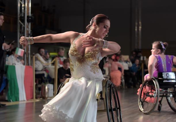 Олена Чинка - спортсменка листопада місяця за версією Міжнародного паралімпійського комітету