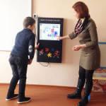 Діти інклюзивно-ресурсного центру в Шумську познайомились з «електронним консультантом»
