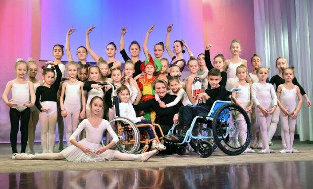 «Громадський бюджет»: у Маріуполі покажуть незвичайну балетну виставу «Лускунчик». мариуполь, балетна вистава лускунчик, суспільство, інвалідний візок, інвалідність