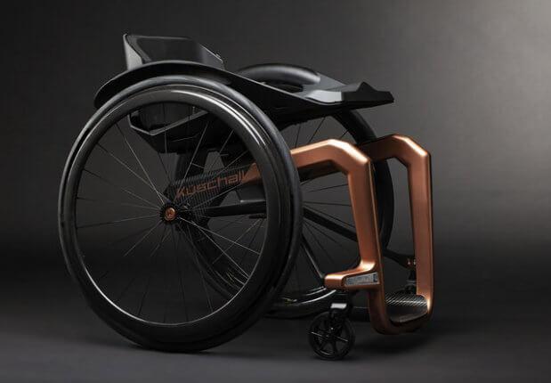 Створено зручний інвалідний візок із графену. küschall, superstar, графен, користувач, інвалідний візок