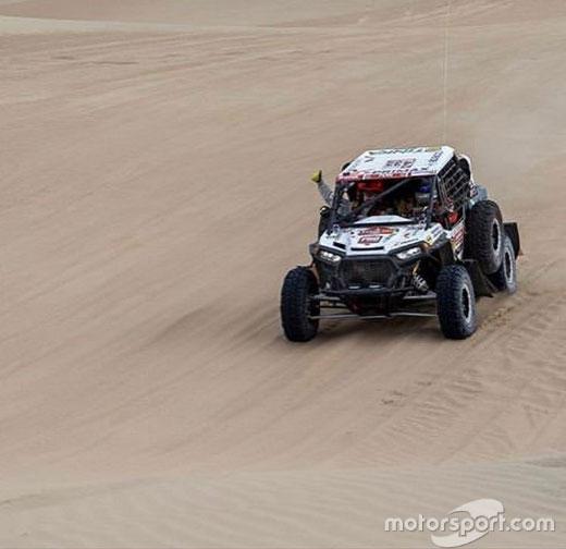 Уперше в історії «Дакара» у перегонах взяв участь гонщик із синдромом Дауна. дакар, лукас баррон, гонщик, перегони, синдром дауна