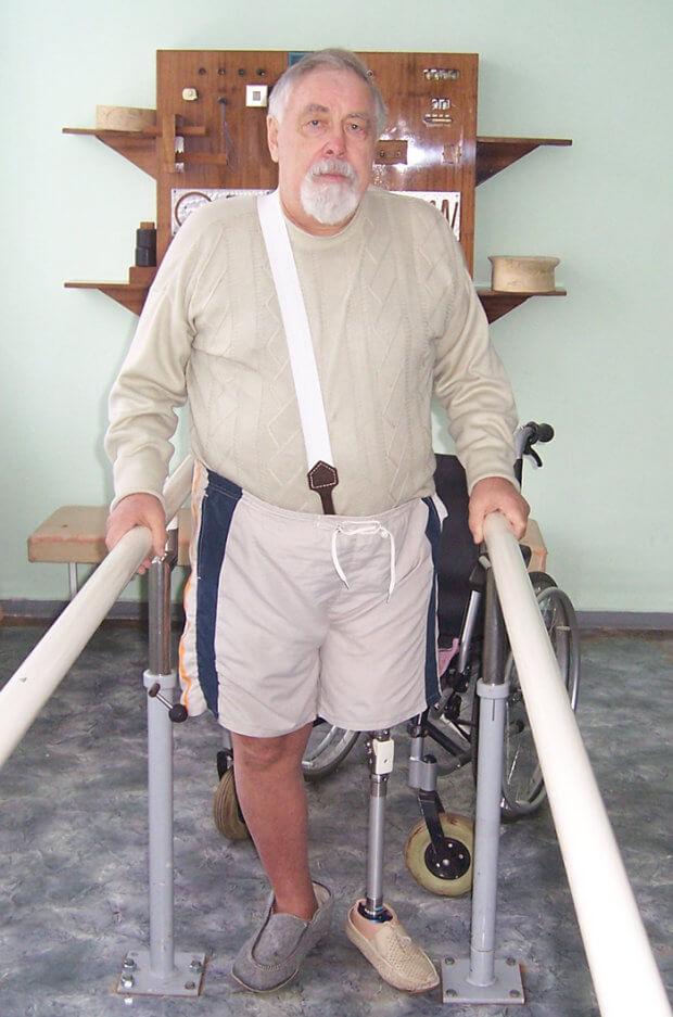 Тут життя починається наново. полтавське кепоп, лікування, протез, протезування, інвалідність