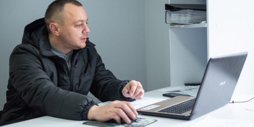 Коломиянин Роман Губач – про соціальне таксі як приклад вдалої ініціативи (ФОТО)