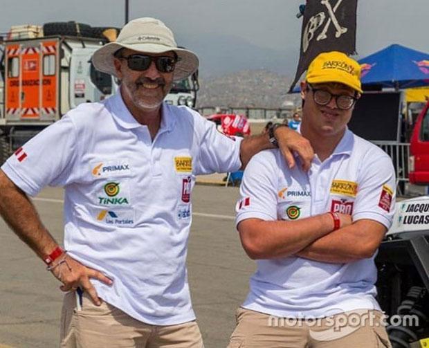 Уперше в історії «Дакара» у перегонах взяв участь гонщик із синдромом Дауна