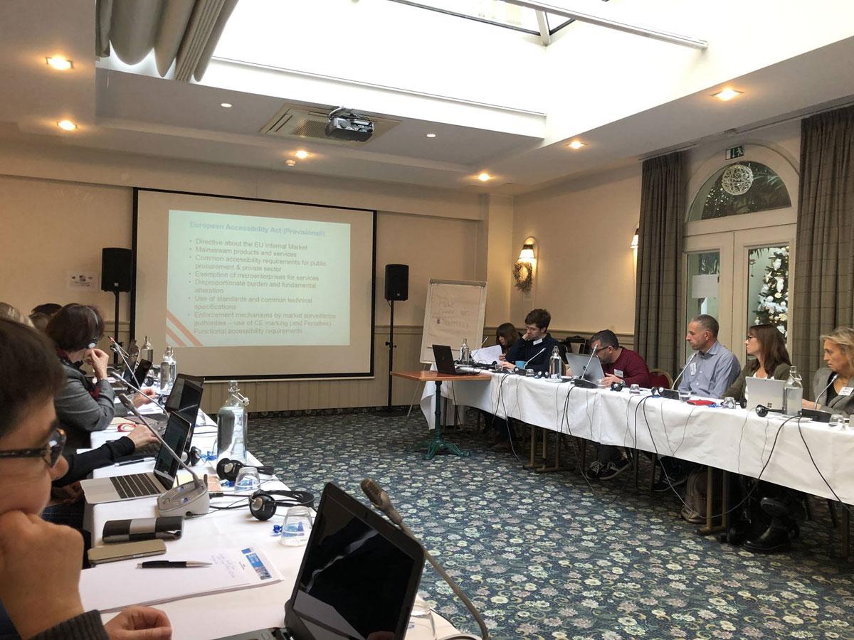 Европейское законодательство, социальные стандарты и доступная среда