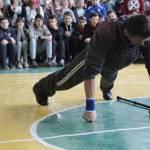 Світлина. Богдан Чіпак, який має першу групу інвалідності, встановив рекорд з відтискання. Життя і особистості, інвалідність, рекорд, відтискання, Богдан Чіпак, досягнення